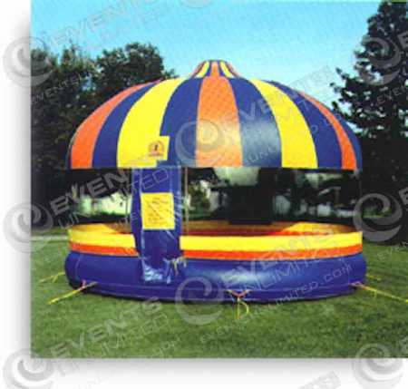 20ft Round Bounce House Events Unlimited