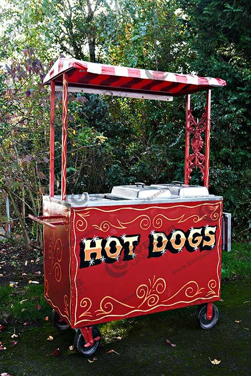 Vintage Hot Dog Cart Events Unlimited