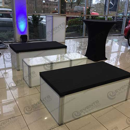 Glow Cube Bench Events Unlimited