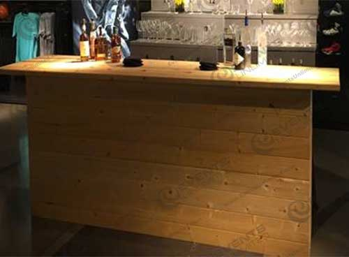 Reclaimed Wood Bar Events Unlimited
