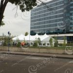 Portland event rental- clearspan tent