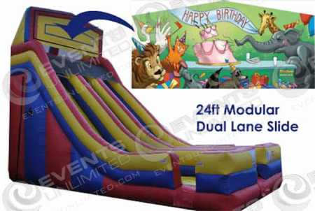 birthday-cake-dual-lane-slide