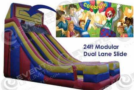 circus-dual-lane-slide