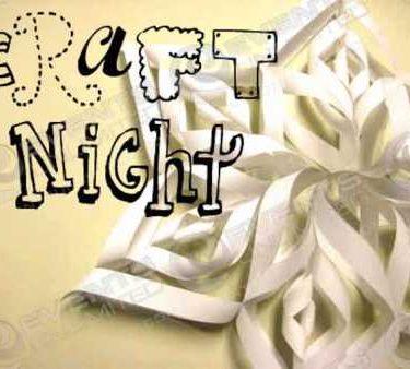 craft night planning for schools