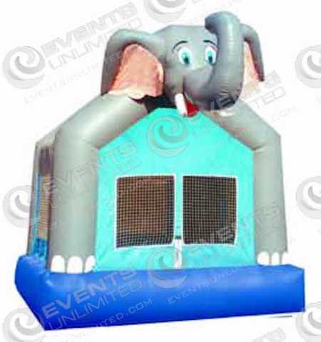 elephant-bounce-house