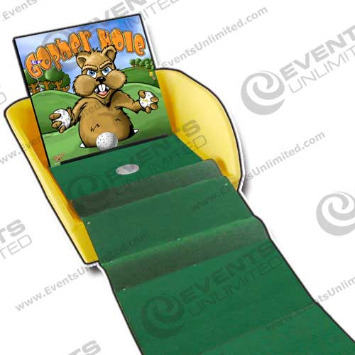 Gopher Hole Putt Challenge