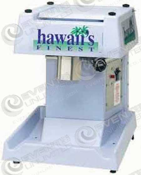 Hawaiian Shave Shaved Ice Shaver