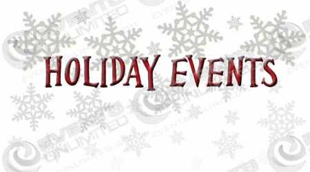 holiday event planning