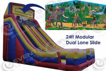 jungle-fun-dual-lane-slide