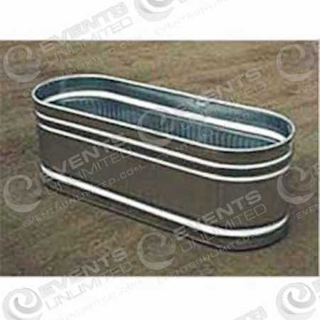 Large Galvanized Trough Events Unlimited