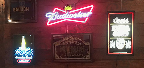 Bar Sign Collection