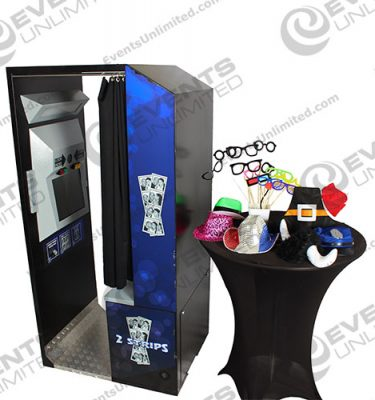 rigid photo booth rental