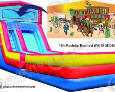 18ft Wet Dry Modular Slide
