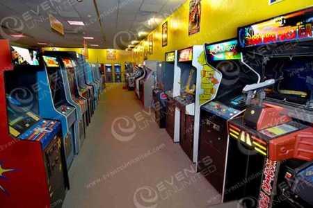 arcade game room rentals events unlimited 888 292 2475