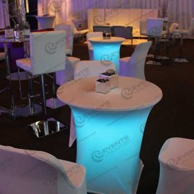 rent_glowing_blue_bistro_tables
