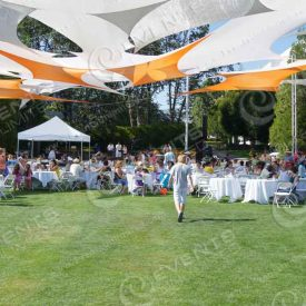Shade Sails - A whole new element of event decor.
