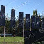 Custom Flags and Decor