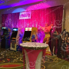Hulk Hogan, CaddyShack, Kiss, PacMan, neon and zebra print...  Did we miss anything?