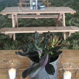 Rustic Table Decor.