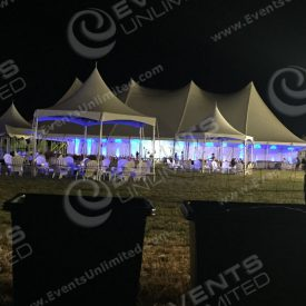 This major event tent, furniture decor, and more was hugely successful for the Hamptons themed event.