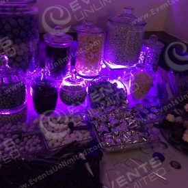 We have more than just glow candy stations available!