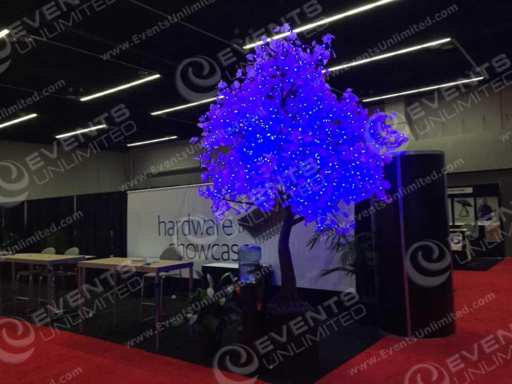 Tradeshow Decor & Lighted Trees :: Rental :: LED Trees