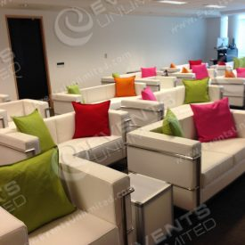 White Lounge Seating