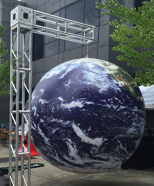 Giant Globe Decor