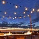 bistro lighting and event decor