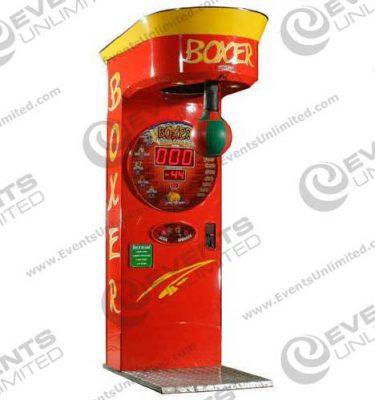 Boxing Game Arcade Rental
