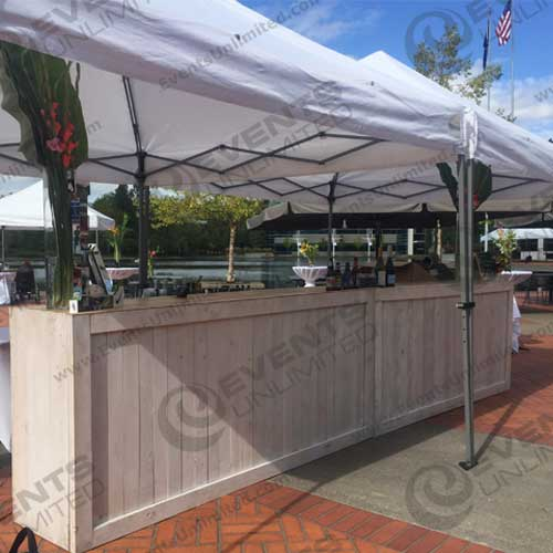 White Washed Bar Events Unlimited