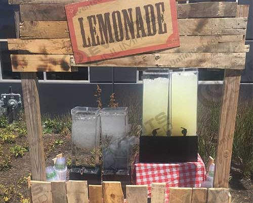 event decor- lemonade stand
