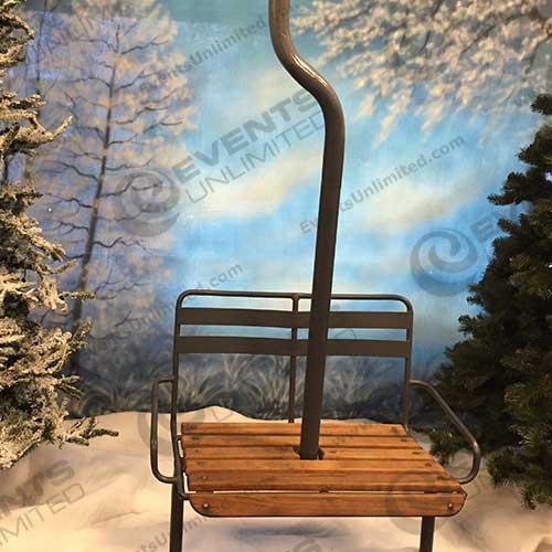 ski chair prop