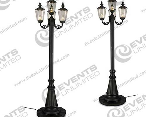 street lamp prop rental