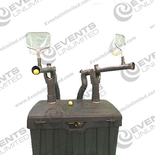 fun game rental air blaster cannons