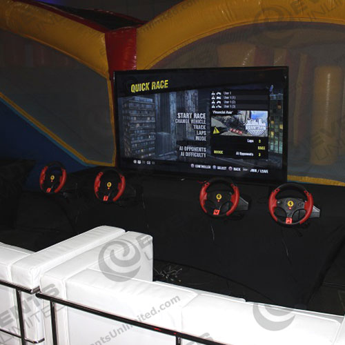 Video Game Racing Station Events Unlimited