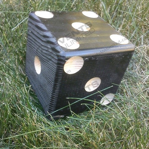 giant yahtzee dice