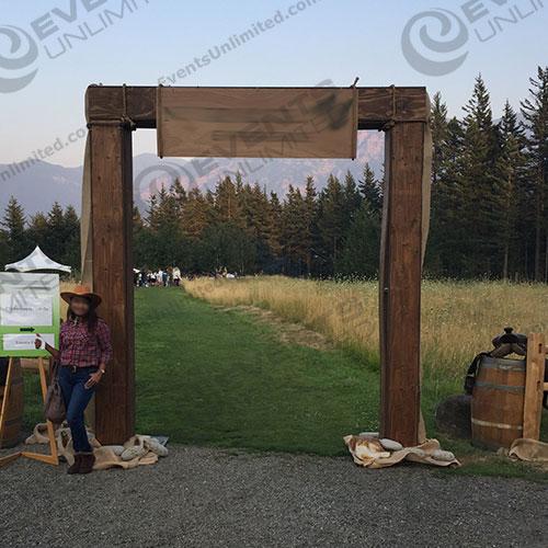 Western Themed Arch