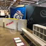 scenic design and fabrication of brand activation experience