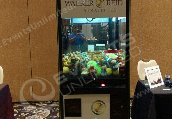 Branded Claw Machine