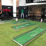 custom golf game and retail display