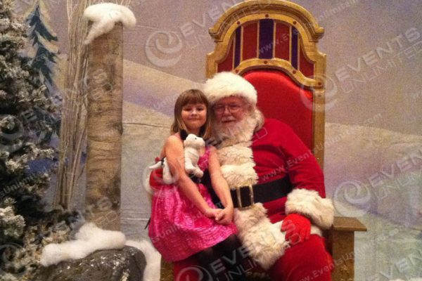 Santa Land Picture Decor and Theming