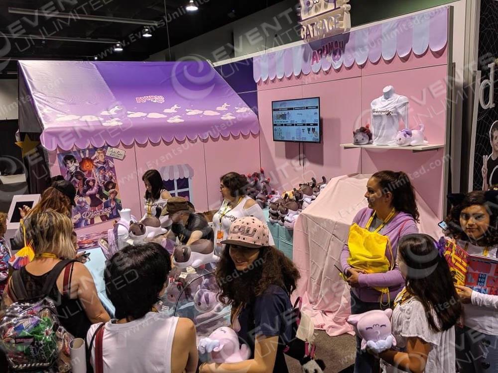 Exhibit Booth design for tradeshow