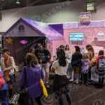 Trade show booth for Vidcon